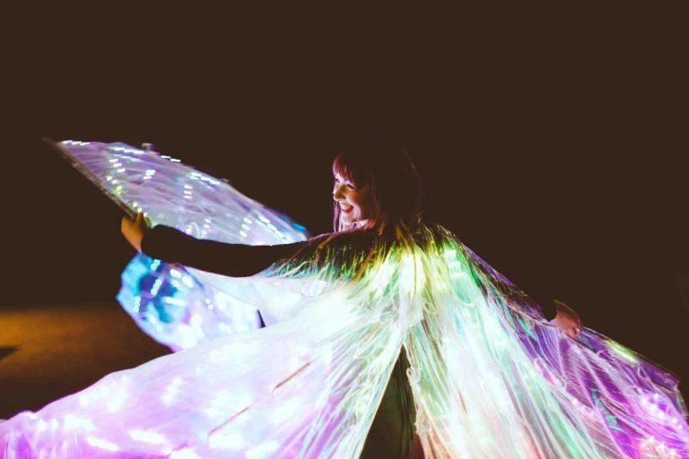 Glow wings 2